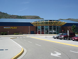 Vernon, British Columbia - The Kal Tire Place (formerly the Vernon Multiplex), completed in 2001, is home to the Vernon Vipers