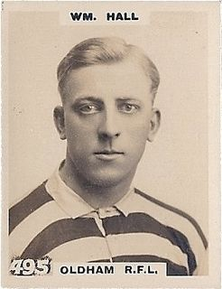 Billy Hall (rugby) English rugby union and rugby league footballer