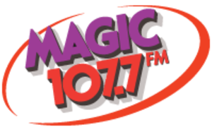 WMGF - Former logo of the radio station used from 2009 to July 2014