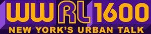 WWRL - WWRL logo from the urban talk format era.