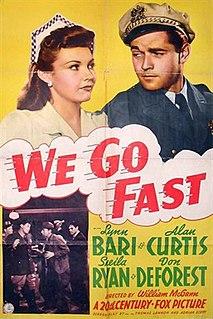 <i>We Go Fast</i> 1941 film by William C. McGann