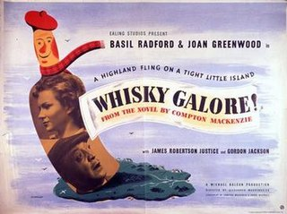 <i>Whisky Galore!</i> (1949 film) 1950 film by Alexander Mackendrick