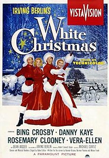 <i>White Christmas</i> (film) 1954 US film directed by Michael Curtiz