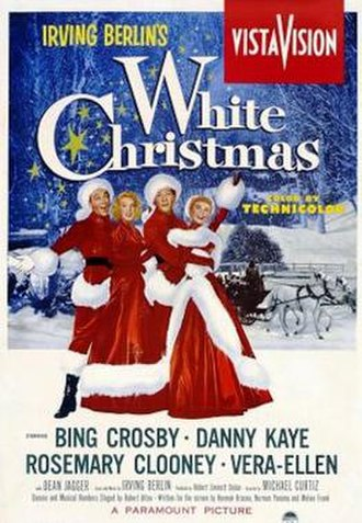 White Christmas (film) - Theatrical release poster
