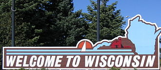 State welcome sign Wisconsin welcome sign.JPG