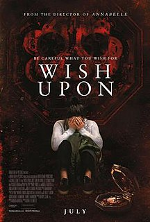 <i>Wish Upon</i> 2017 supernatural horror thriller film directed by John R. Leonetti