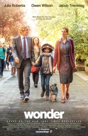 Wonder (film) - Theatrical release poster