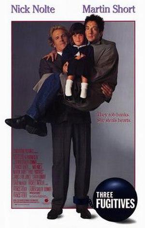 Three Fugitives - Promotional film poster