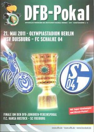 2011 DFB-Pokal Final - Image: 2011 DFB Pokal Final programme
