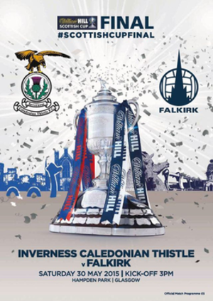 2015 Scottish Cup Final - Image: 2015 Scottish Cup Final programme