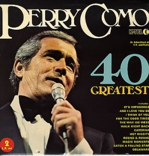 40 Greatest Hits (Perry Como album) - Image: 40 greatest hits perry como