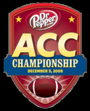 2009 ACC Championship Game - ACC Championship logo