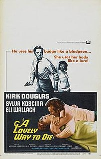 <i>A Lovely Way to Die</i> 1968 film by David Lowell Rich