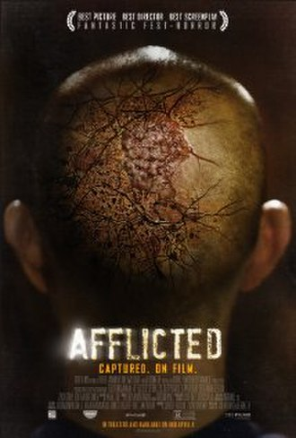 Afflicted (film) - Image: Afflicted 2013 movie poster
