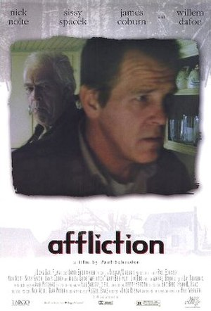 Affliction (film) - Theatrical film poster