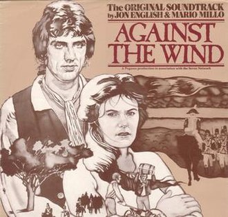 Against the Wind (soundtrack) - Image: Against the Wind by Jon English and Mario Millo