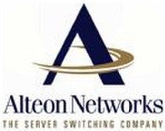 Alteon WebSystems - Original logo for Alteon Networks