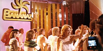America Goes Bananaz - The set of America Goes Bananaz during a 1979 taping.