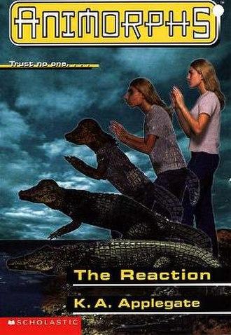 The Reaction (novel) - Rachel morphing into a crocodile