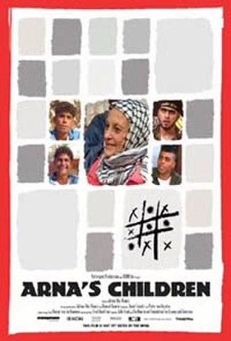Arna's Children - Theatrical release poster