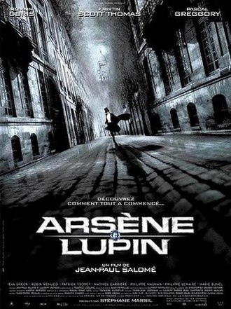Arsène Lupin (2004 film) - Theatrical release poster