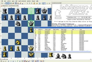 Free Internet Chess Server - FICS using BabasChess interface.