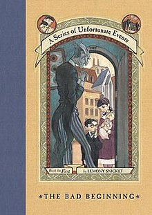 Image result for a series of unfortunate events the bad beginning