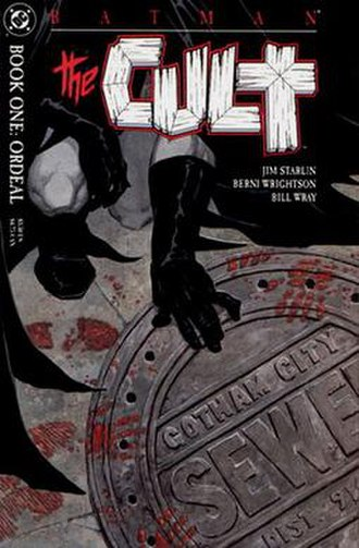 Batman: The Cult - Image: Batman The Cult 1 cover