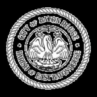 East Baton Rouge Parish, Louisiana - Image: Baton Rouge seal