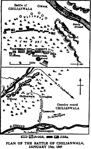 Battle of Chillianwala -Our fighting services - Evelyn Wood pg423.jpg