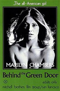 <i>Behind the Green Door</i> 1972 film by Mitchell brothers
