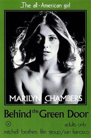 Behind the Green Door - theatrical release poster