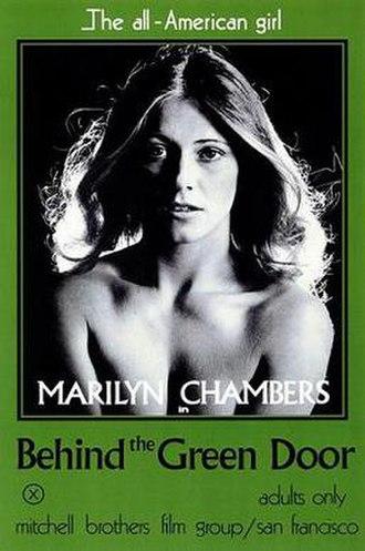 Behind the Green Door - theatrical release poster