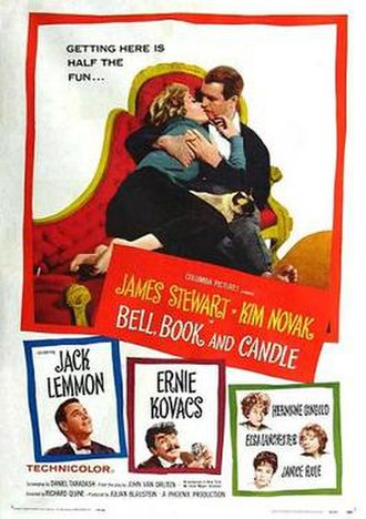 Bell, Book and Candle - Theatrical release poster