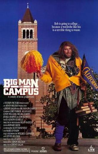 Big Man on Campus - Image: Big man on campus movie poster