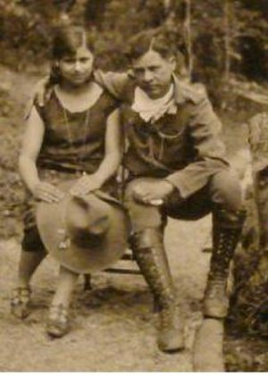 Blanca Aráuz - Blanca Aráuz and Augusto César Sandino in 1932