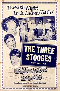 <i>Blunder Boys</i> 1955 film by Jules White