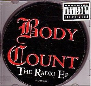 Cop Killer (song) - Image: Body Count Radio EP