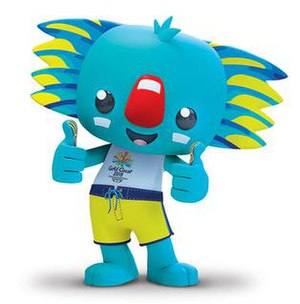 2018 Commonwealth Games - Borobi