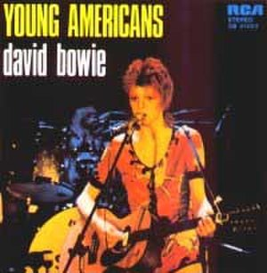 Young Americans (song) - Image: Bowie Young Americans Single