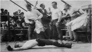 Boxing Match; or, Glove Contest - Screenshot from the film