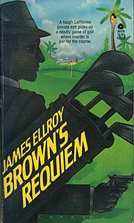 <i>Browns Requiem</i> (novel) book by James Ellroy