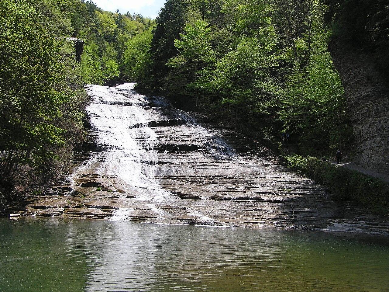 File Buttermilk Falls Buttermilk Falls State Park Near