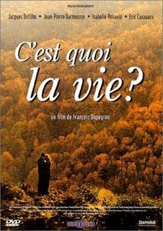 C'est quoi la vie? - DVD cover