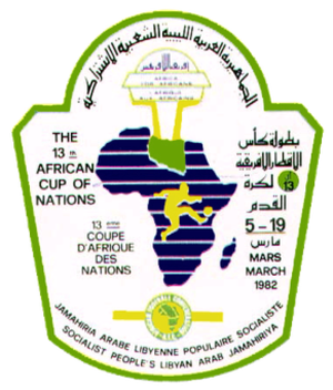 1982 African Cup of Nations - Image: CAN 1982 (logo)