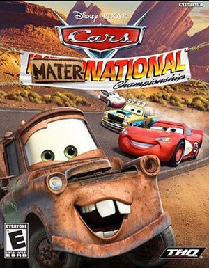 Cars Mater-National Championship - Image: Cars Mater National Championship