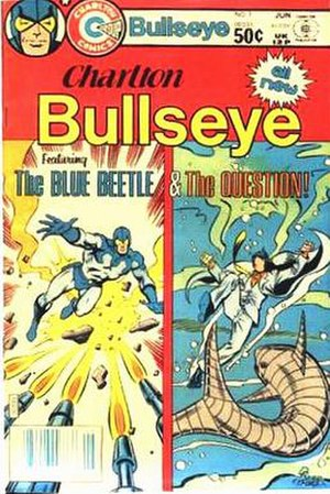 Charlton Bullseye (comics) - Image: Charlton Bullseye 01