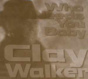 Who Needs You Baby - Image: Clay Walker Who Needs You Baby cover
