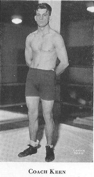 Cliff Keen - Cliff Keen, U-M wrestling coach, 1925-1970