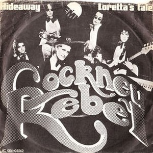 Hideaway (Cockney Rebel song) - Image: Cockney Rebel Hideaway 1974 Denmark Single Cover